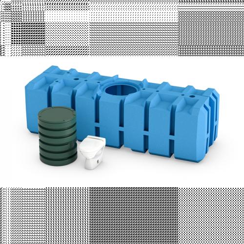 FANN GREEN TOALETTSYSTEM 3000L - ENBART WC